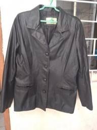 Título do anúncio: Jaqueta de couro feminina tamanho G