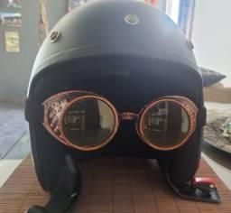 Óculos vintage estilo steampunk