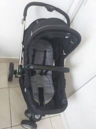 Carrinho kiddo compras + bebê conforto