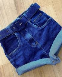 short jeans feminina cintura alta no atacado do 36 ao 50