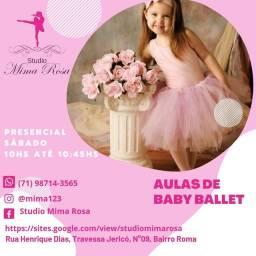 Aulas de Ballet para todas as idades