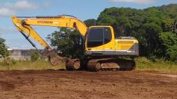 Escavadeira Hyundai 160
