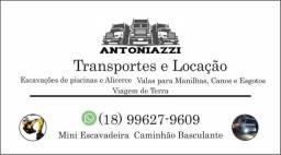 Transportes e locação