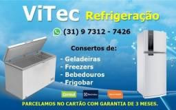 Conserto de Geladeiras e Freezers