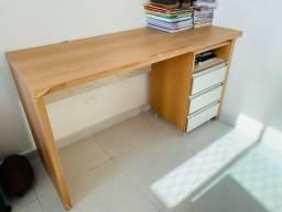 Mesa escritório + gaveteiros