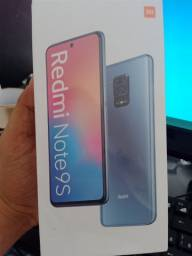 Redmi note 9 S lacrado 1600 reaisb