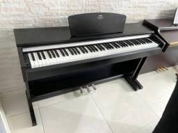 Piano Arius Yamaha Tabaco YDP 141 - Seminovo! 12x s/ juros