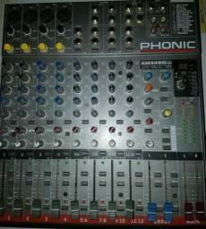 Mesa de Som Fhonic