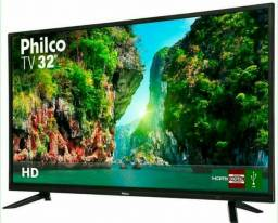 """Tv LED 32"""" Philco Nova na Caixa"""