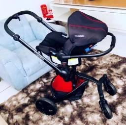 Carrinho De Bebê Kiddo Spin 360°