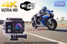 Camera Sport prova dagua 4K Original com wi fi com flash 16 mp