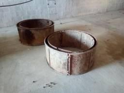 Formas de tubo para cisterna