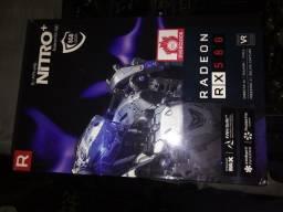 Placa de video rx 580 nitro+ 8 gb oc