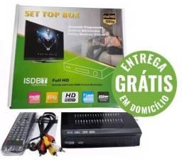 Conversor tv digital multimídia com gravador - entrega grátis