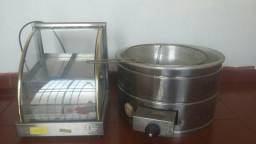 Tacho e estufa