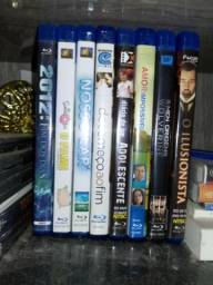 CDs. Dvds e Blurays