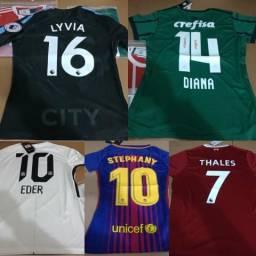 8fe1a402cf Peça já a camisa do seu time e personalize!
