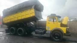 MB truck, caçamba c/ lona fácil - Agregado