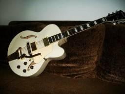 Vendo guitarra ibanez semi acústica branca
