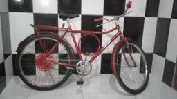 Bicicleta Barra Circular Aro 26 Seminova