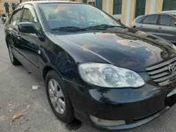 Corolla xei ano 2008 cor preta com Gnv 5 geração - 2008