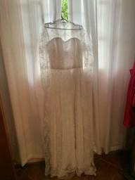 Vestido de noiva única dona