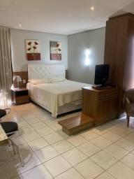 Flat mobiliado em hotel no Setor Oeste