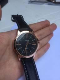 Relógio Yazole Pulseira De Couro Social Casual - 2 Cores Disponiveis