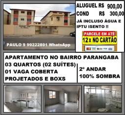 Alugo Apartamento na Parangaba Próx a Acal da Av. Gododfredo Maciel 83m²