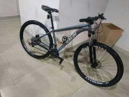 Bike aro 29 Caloi Atacama com upgrade