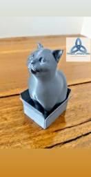 Gato impressão 3D