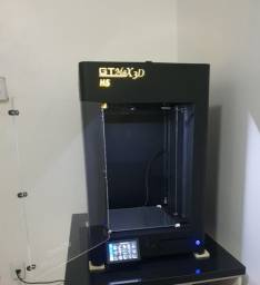Impressora 3d Pro - Gtmax3d Core H5 (Seminova) + Ebox-Estufa Para Filamentos-Preço Baixo!