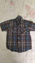 Camisas infantis. Tam 4
