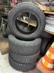 Jogo pneus 225/65r17