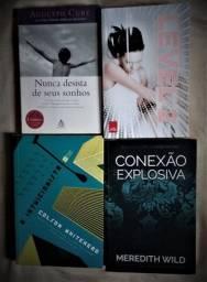 4 Livros em bom estado. Entrego em sua casa. Caruaru-PE