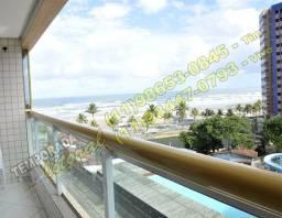 03 Apartamento/Temporada,Frente p/o mar c/WiFi,Suite,Churra,Espaço Gourmet/ *