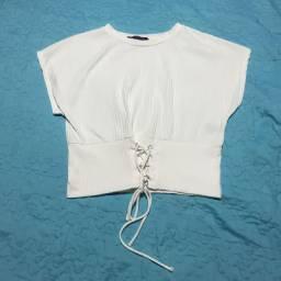 Coleção ano novo - blusa branca