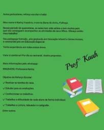 Professora / aulas particulares