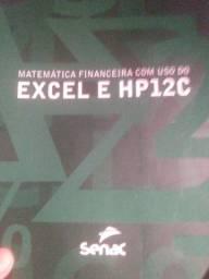 """Livro """"Matemática Financeira com uso do Excel e HP 12C""""."""