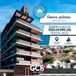 Apto. na Praia de Palmas-SC 03 dorm. Lançamento Próximo ao Mar!!