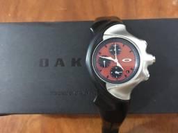 Relógio Oakley Detonator Cronógrafo Red Dial comprar usado  Juiz de Fora
