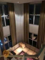 Apartamento Duplex com 1 dormitório à venda, 81 m² por R$ 660.000 - Mercês - Curitiba/PR