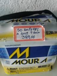 Bateria Moura 50 amperes base de troca Entrega grátis