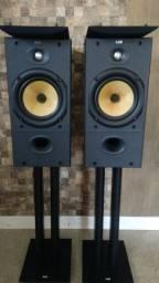 Caixas B&W 602-S2 + Pedestais B&W originais!!!