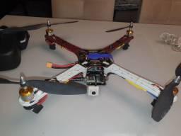 Drone f450 com controladora kk2.1 óculos fpv