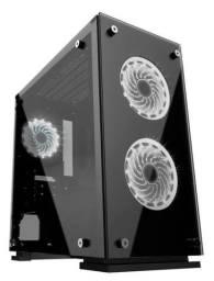 PC Gamer Core I3 9100F , 8GB Ddr4, SSD 120GB , RX550 4GB, Fonte 600W Real , Gab Gamer