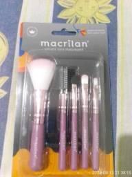 Vendo kit de pincéis de maquiagem da Macrilan
