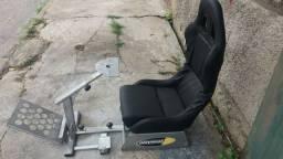 Cadeira pilotagem cockpit playseat.frete grátis