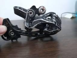 Vendo câmbio traseiro Shimano slx RD- m663 10v  usado