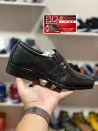 Sapato masculino Social de couro